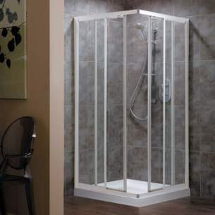Trevi Shower Enclosures -  Ideal Standard Connect L8077aa C/e Dr 850 Fr Modesty Sl