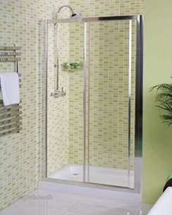 Roman Shower Enclosures -  Roman 800 X 800mm Jupiter Corner Entry Wht