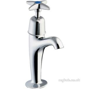 Deva Brassware -  Deva Bs1010 X-top Sink Tap Hot Sgl