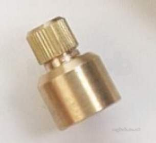 Brass Bushes Sockets and Plugs -  Midbras 15mm Air Vent Cap End 01 951/1