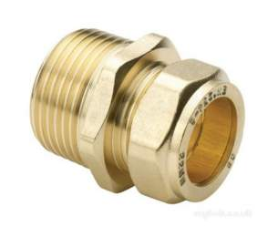 Center Compression Fittings -  Cb Compression Mi Str Connector 10 X 3/8