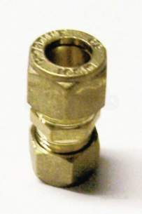 Plumb Center Compression Fittings -  Cb Comp 15mm X 12mm Reduced Coupling