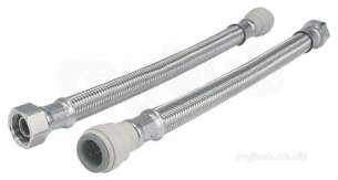 John Guest Speedfit Pipe and Fittings -  Speedfit 1/2 Inch Bspx15mm Flexi Hose 150mm