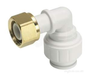 John Guest Speedfit Pipe and Fittings -  John Guest Speedfit Bent Tap Connector 15x0.5 Inch 1