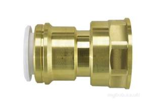 John Guest Speedfit Pipe and Fittings -  Speedfit 22mm X 1 Inch Fi Cylinder Adaptor
