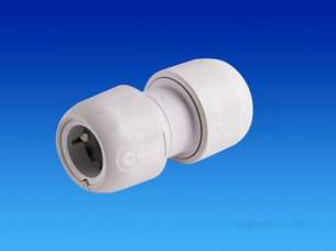 Hep2O Pipe and Fittings -  Hep2o Hd1 Straight Connector 22 Hd1/22w