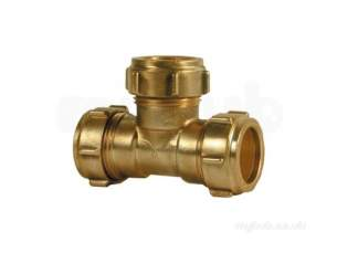 Ibp Conex Compression Fittings -  Ibp Conex Conex 601e 15mm Equal Tee