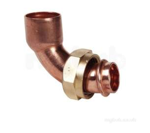 Ibp General Range Conex End Feed Fitting -  Ibp 607tc 15mm X 1/2 Inch Bent Tap Connector