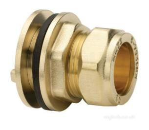Plumb Center Compression Fittings -  Cb 15mm Compression Tank Coupling