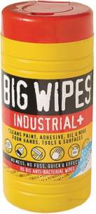 Cleaning Brushes and Asbestos Pads -  Ddm Big Industrial Wipes 80 Dual Sided