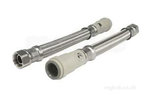 John Guest Speedfit Pipe and Fittings -  Speedfit 3/4 Inch Bspx22mm Hose And Valve 300mm
