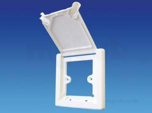 Hep2O Underfloor Heating Pipe and Fittings -  Hep2o Radiator Outlet Cover With Flap