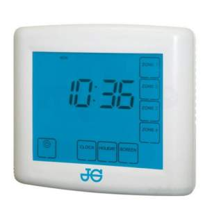 John Guest Underfloor Heating Components -  Jg Speedfit 4 Channel Touch Screen Timer