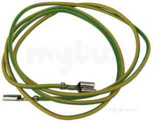 Vaillant Boiler Spares -  Vaillant 255400 Cable Earth Wire 700mm