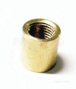 Brass Bushes Sockets and Plugs -  Midbras 3/8 Inch Brass Socket 03 480/3