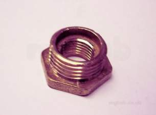 Brass Bushes Sockets and Plugs -  Midbras 1/2x 1/4 Inch Hex Brass Bush