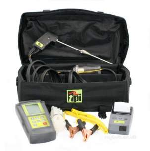 Test Products International Detectors -  Tpi 712/kit1 Flue Gas Analyser And Printer