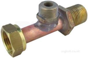 Ariston Boiler Spares -  Mts 995471 Pipe W/union
