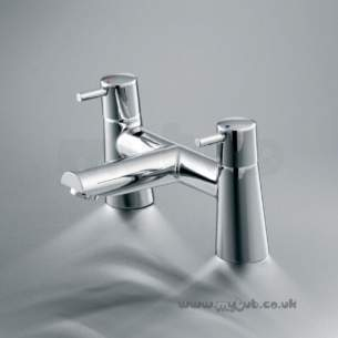 Ideal Standard Brassware -  Ideal Standard Cone B5110 Two Tap Holes Bath Filler Cp