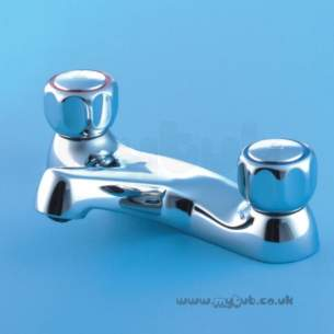 Armitage Shanks Domestic Brassware -  Armitage Shanks Fairline S7671 Deck Bath Filler Cp