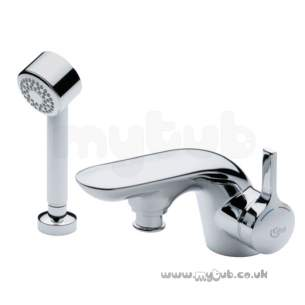 Ideal Standard Brassware -  Ideal Standard Melange A4278 Sl Bath/shower Mixer Cp