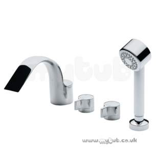 Ideal Standard Brassware -  Ideal Standard Melange A4335 4th Bath/shower Mixer Cp