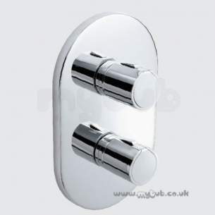 Ideal Standard Brassware -  Ideal Standard A4015 Active Face Plate And Handles