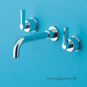 Ideal Standard Brassware -  Ideal Standard Silver E0063 3th W/m Basin Mixer Cp