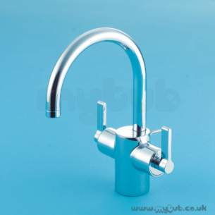 Ideal Standard Brassware -  Ideal Standard Silver E0065 Mono D/c Basin Mixer And Puw Cp