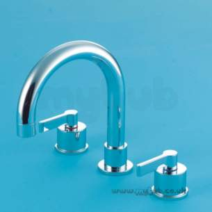 Ideal Standard Brassware -  Ideal Standard Silver E0071 3th W/m Bath Mixer Cp