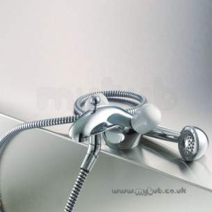 Ideal Standard Brassware -  Ideal Standard Waterways E7055 One Tap Hole Bath/shower Mixer Cp