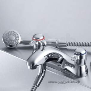 Ideal Standard Brassware -  Ideal Standard Waterways Cd E0715 Bath/shower Mixer Cp