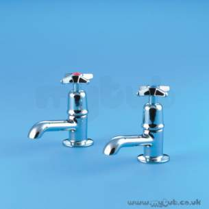 Armitage Shanks Commercial Brassware -  Armitage Shanks Alterna 2 S7155 Basin Tap Chrome Plated 0.5 Inch