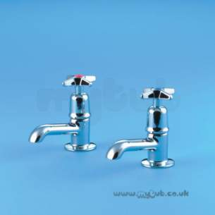 Armitage Shanks Commercial Brassware -  Armitage Shanks Alterna 2 S7158 Bath Tap Chrome Plated 0.75 Inch