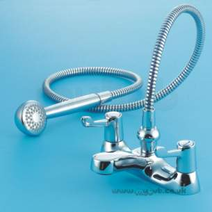 Armitage Shanks Domestic Brassware -  Armitage Shanks Sandringham Lever S7643 Bath/shower Mixer Cp
