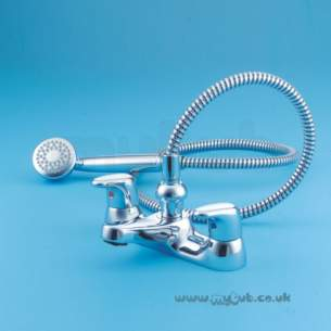 Armitage Shanks Domestic Brassware -  Armitage Shanks Sandringham E5068 Lever Handle Bath/shower Mixer Cp