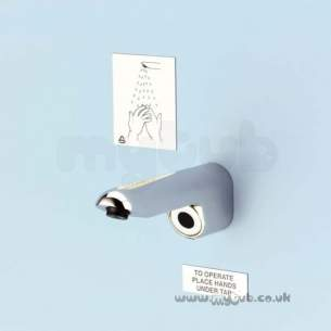 Armitage Shanks Commercial Brassware -  Armitage Shanks Sensorflo Solo S8136 Panel Spout Cp