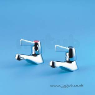 Armitage Shanks Commercial Brassware -  Armitage Shanks Alterna 2 S7188 Quarter-turn Bath Tap Chrome Plated 0.75 Inch