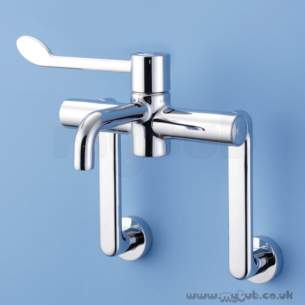 Armitage Shanks Commercial Brassware -  Armitage Shanks Markwik S8243aa Seq Therm Swan Neck Mixer