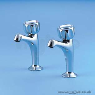 Armitage Shanks Domestic Brassware -  Armitage Shanks Fairline S7071 1/2 Inch Sink Pillars Cp