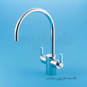 Ideal Standard Brassware -  Ideal Standard Silver E0084 D/c Sf Mono Kitchen Mixer Cp