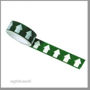 Regin Products -  Regin Rega50 White Arrowed Green Tape