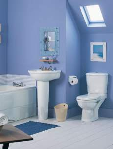Ideal Standard Packs -  Ideal Standard Alto Bathroom Suite White