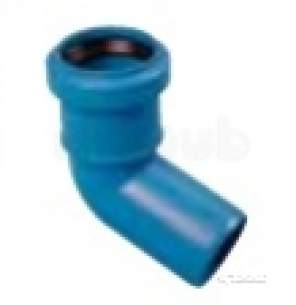 Polypipe Terrain Hdpe -  Acoustic Db12 40mm Elbow 67deg As650417
