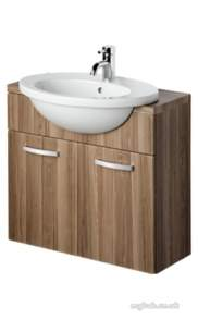 Ideal Standard Sottini Ware -  Ideal Standard Alchemy E9971 600mm 1th Semi-countertop Basin White
