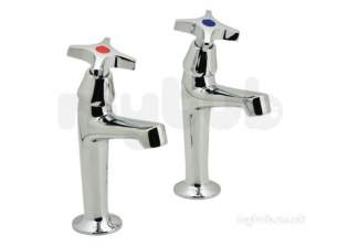 Vado Brassware -  Astra Kitchen Sink Tall Pillars With