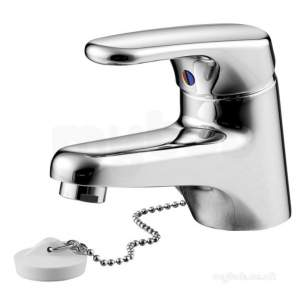 Armitage Shanks Domestic Brassware -  Armitage Shanks Sandringham Sl S7373 Cd Rim Mtd Basin Mixer