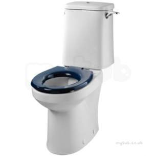 Twyfords Commercial Sanitaryware -  Avalon/sola Closed Coupled Cistern Bsio 6 Or 4l Av2661wh