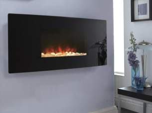 Flavel Electric Fires -  Flavel Accent-electric Curved Glass