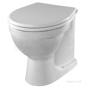 Twyford Mid Market Ware -  Alcona Back-to-wall Toilet Pan Ar1438wh